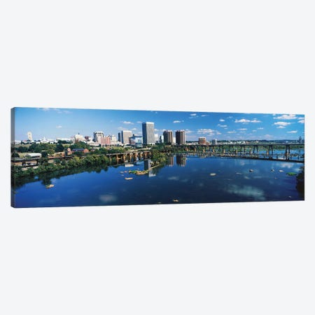 Skyscrapers In A City, Richmond, Virginia, USA Canvas Print #PIM14924} by Panoramic Images Art Print