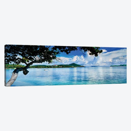 St. Johns Bay, Cabes Point, Sapphire Beach, St. Thomas, U.S. Virgin Islands, USA Canvas Print #PIM14930} by Panoramic Images Canvas Art Print