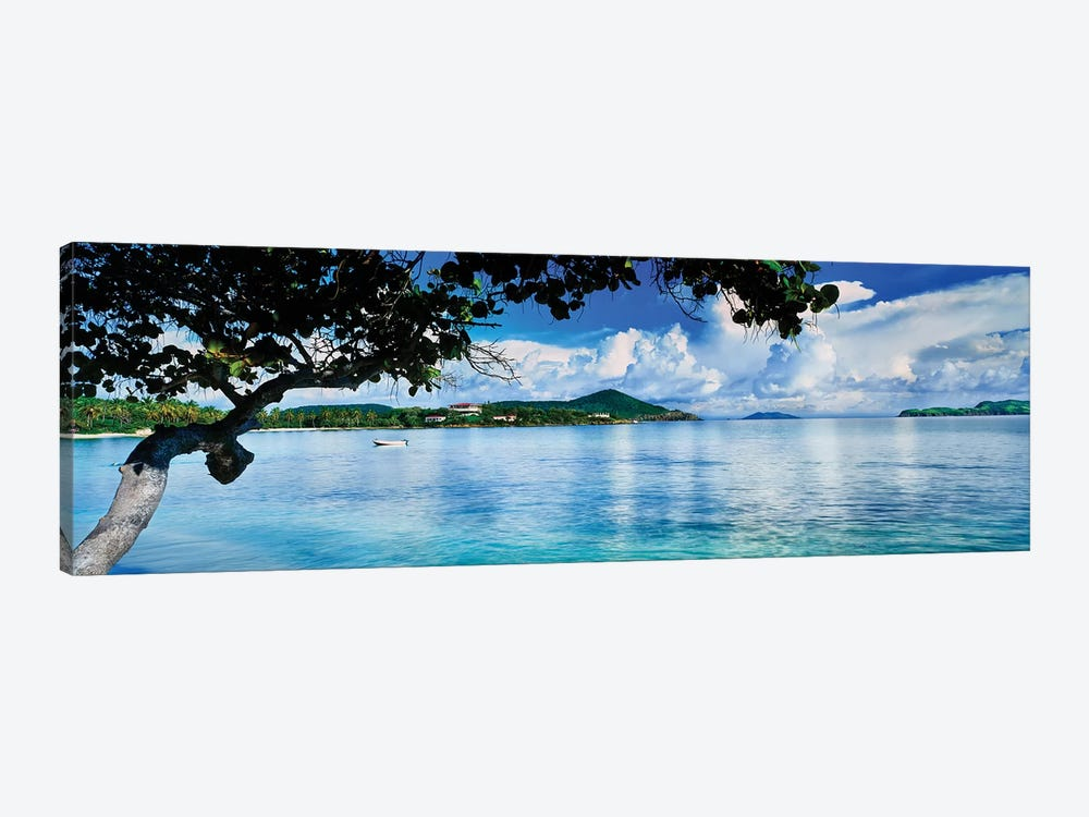 St. Johns Bay, Cabes Point, Sapphire Beach, St. Thomas, U.S. Virgin Islands, USA by Panoramic Images 1-piece Canvas Art Print