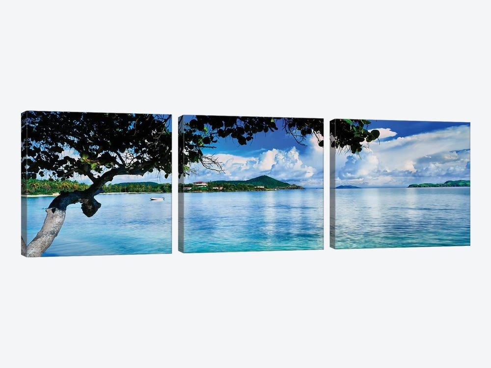 St. Johns Bay, Cabes Point, Sapphire Beach, St. Thomas, U.S. Virgin Islands, USA by Panoramic Images 3-piece Art Print