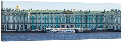 State Hermitage Museum Viewed From Neva River, St. Petersburg, Russia Canvas Art Print