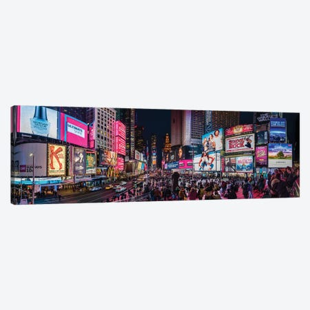 Times Square, Manhattan, New York City, New York State, USA Canvas Print #PIM14961} by Panoramic Images Canvas Wall Art