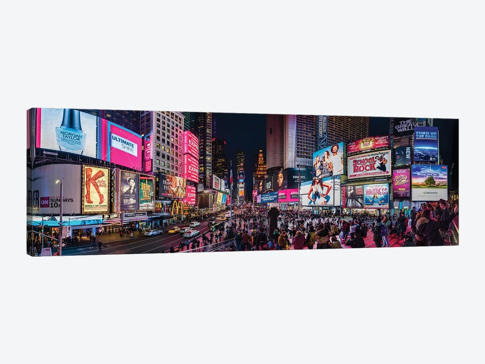 Times Square, Manhattan, New York City, New York State, USA by Panoramic Images 1-piece Canvas Art Print