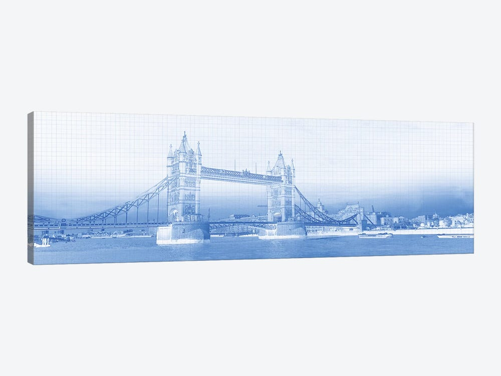 Tower Bridge On Thames River, London, England by Panoramic Images 1-piece Canvas Artwork