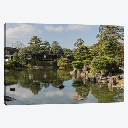 Traditional Garden In Katsura Imperial Villa, Kyoti Prefecture, Japan Canvas Print #PIM14963} by Panoramic Images Canvas Art