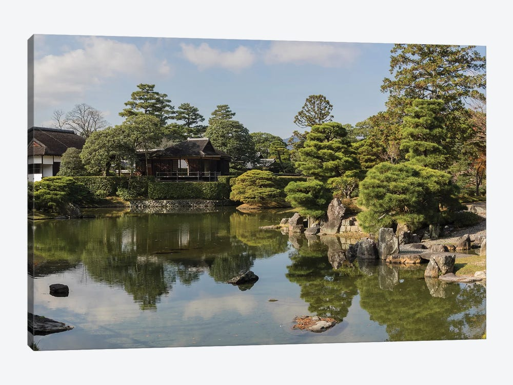 Traditional Garden In Katsura Imperial Villa, Kyoti Prefecture, Japan by Panoramic Images 1-piece Canvas Print