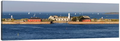 Trekroner Fort Seen From Copenhagen Harbor, Copenhagen, Denmark Canvas Art Print