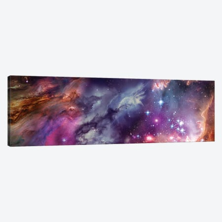 Universe By Hubble Canvas Print #PIM14990} by Panoramic Images Art Print
