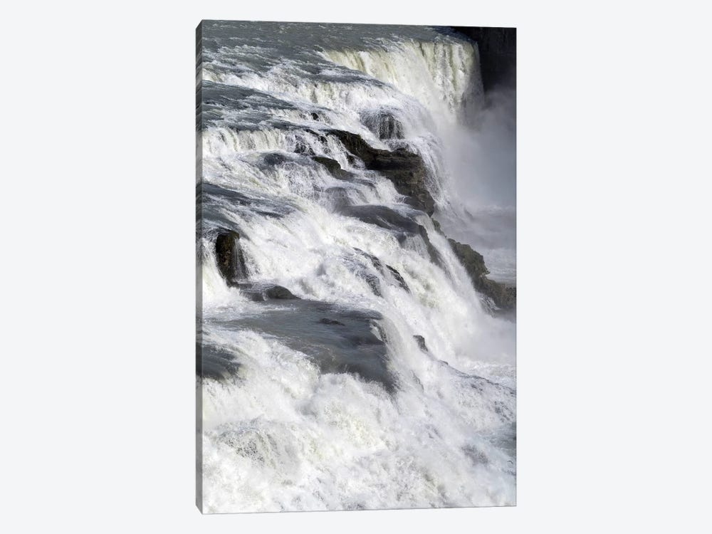 View Of Gullfoss Falls On The Hvita River, Iceland by Panoramic Images 1-piece Canvas Art Print