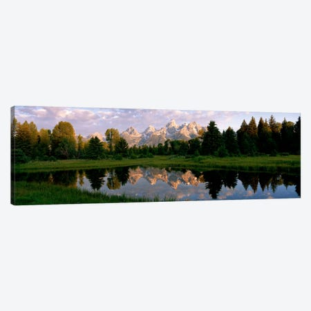 Grand Teton Park, Wyoming, USA Canvas Print #PIM149} by Panoramic Images Canvas Print