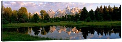 Grand Teton Park, Wyoming, USA Canvas Art Print