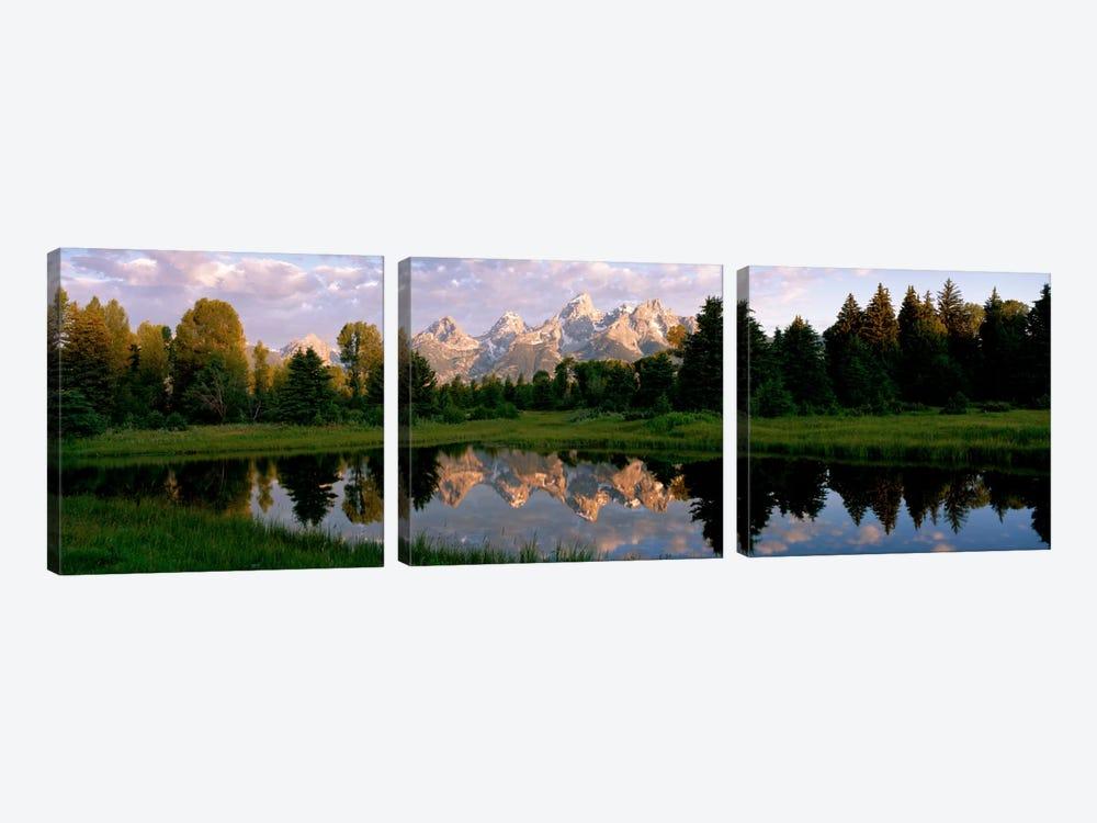 Grand Teton Park, Wyoming, USA by Panoramic Images 3-piece Canvas Artwork