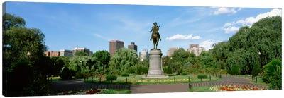 George Washington Equestrian Statue, Boston Public Garden, Boston, Massachusetts, USA Canvas Print #PIM14