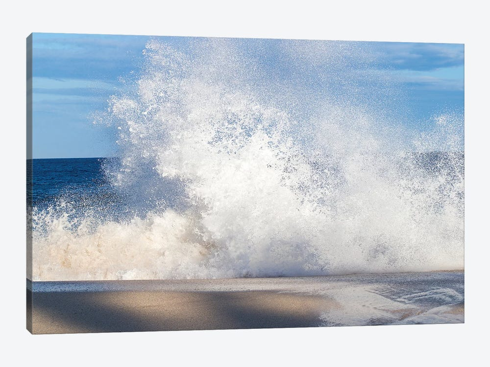 View Of Surf On The Beach, Hawaii, USA I by Panoramic Images 1-piece Canvas Print