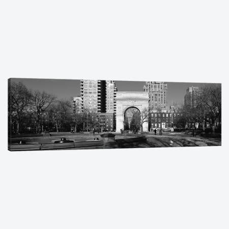 Washington Square Arch, Washington Square Park, Manhattan, New York City, USA Canvas Print #PIM15015} by Panoramic Images Canvas Artwork
