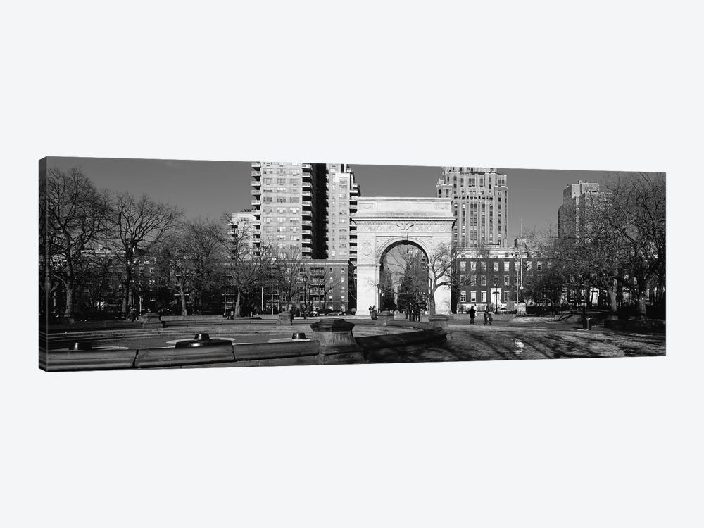 Washington Square Arch, Washington Square Park, Manhattan, New York City, USA by Panoramic Images 1-piece Canvas Art