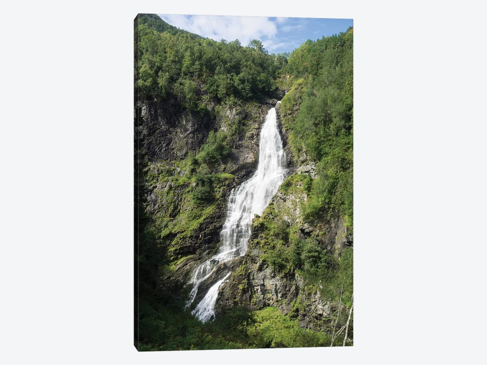 Water Falling From Rocks, Stalheim, Norway by Panoramic Images 1-piece Canvas Art