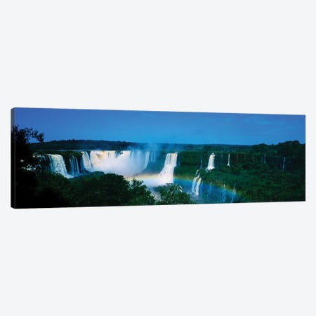 Waterfall In A Forest, Iguacu Falls, Iguacu National Park, Argentina II Canvas Print #PIM15019} by Panoramic Images Canvas Print