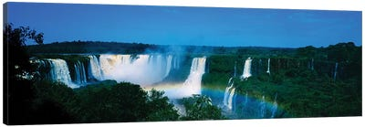 Waterfall In A Forest, Iguacu Falls, Iguacu National Park, Argentina II Canvas Art Print