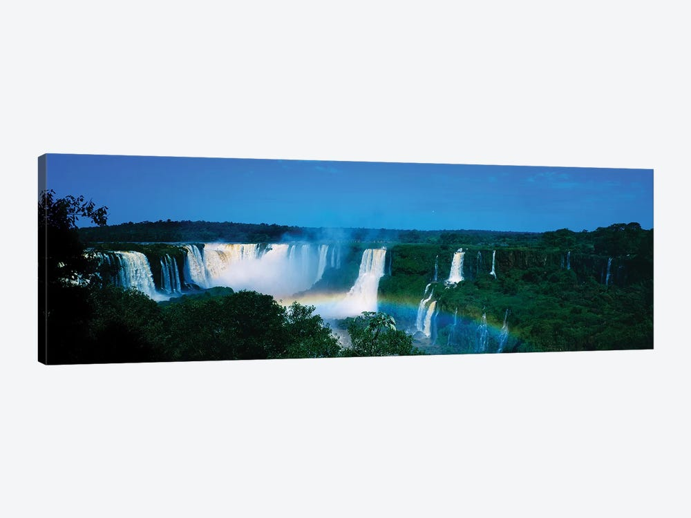 Waterfall In A Forest, Iguacu Falls, Iguacu National Park, Argentina II by Panoramic Images 1-piece Canvas Art