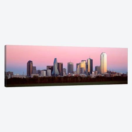 Twilight, Dallas, Texas, USA Canvas Print #PIM1502} by Panoramic Images Canvas Artwork