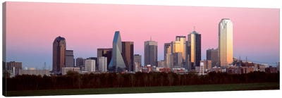 Twilight, Dallas, Texas, USA Canvas Art Print