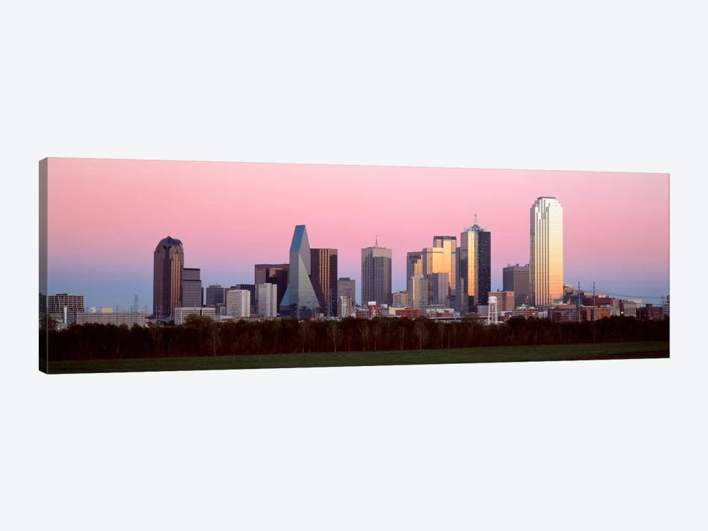 Twilight, Dallas, Texas, USA by Panoramic Images 1-piece Canvas Wall Art