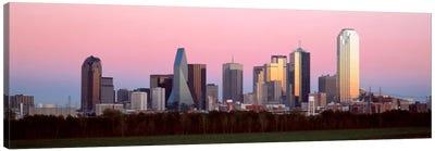 Twilight, Dallas, Texas, USA Canvas Art Print