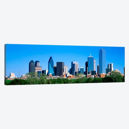 Dallas, Texas, USA Canvas Print #PIM1503} by Panoramic Images Canvas Art