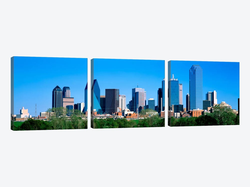 Dallas, Texas, USA by Panoramic Images 3-piece Canvas Print