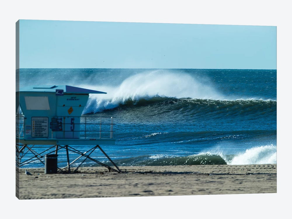 Waves In The Pacific Ocean, Huntington Beach, Orange County, California, USA by Panoramic Images 1-piece Art Print