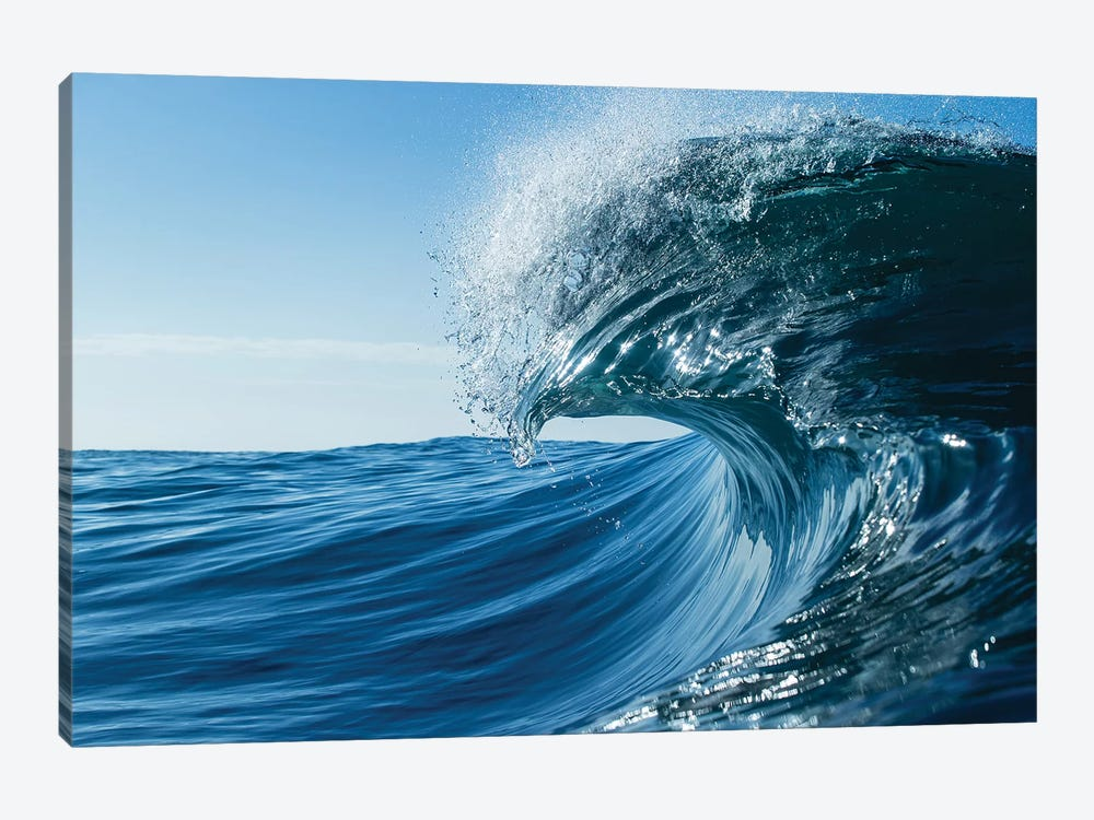 Waves In The Pacific Ocean, Laguna Beach, California, USA II 1-piece Canvas Artwork