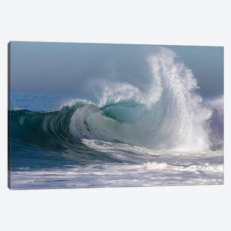 Waves In The Pacific Ocean, Newport Beach, Orange County, California, USA II Canvas Print #PIM15049} by Panoramic Images Canvas Wall Art