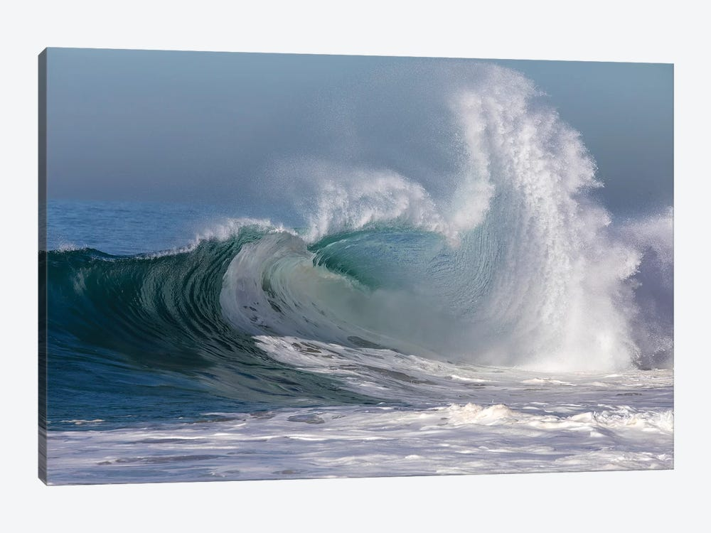 Waves In The Pacific Ocean, Newport Beach, Orange County, California, USA II by Panoramic Images 1-piece Canvas Print