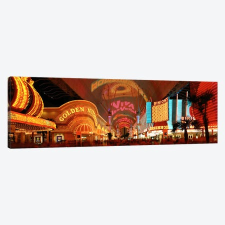 Fremont Street Experience Las Vegas NV USA Canvas Print #PIM1504} by Panoramic Images Art Print