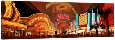 Fremont Street Experience Las Vegas NV USA Canvas Art Print