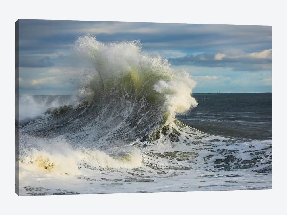 Waves In The Pacific Ocean, San Pedro, Los Angeles, California, USA I by Panoramic Images 1-piece Canvas Artwork