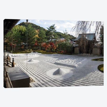 Zen Garden At Kodaiji Temple, Kyoti Prefecture, Japan Canvas Print #PIM15072} by Panoramic Images Canvas Art Print