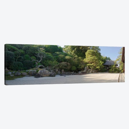 Zen Garden At Konchi-In Temple, Kyoti Prefecture, Japan Canvas Print #PIM15073} by Panoramic Images Canvas Print