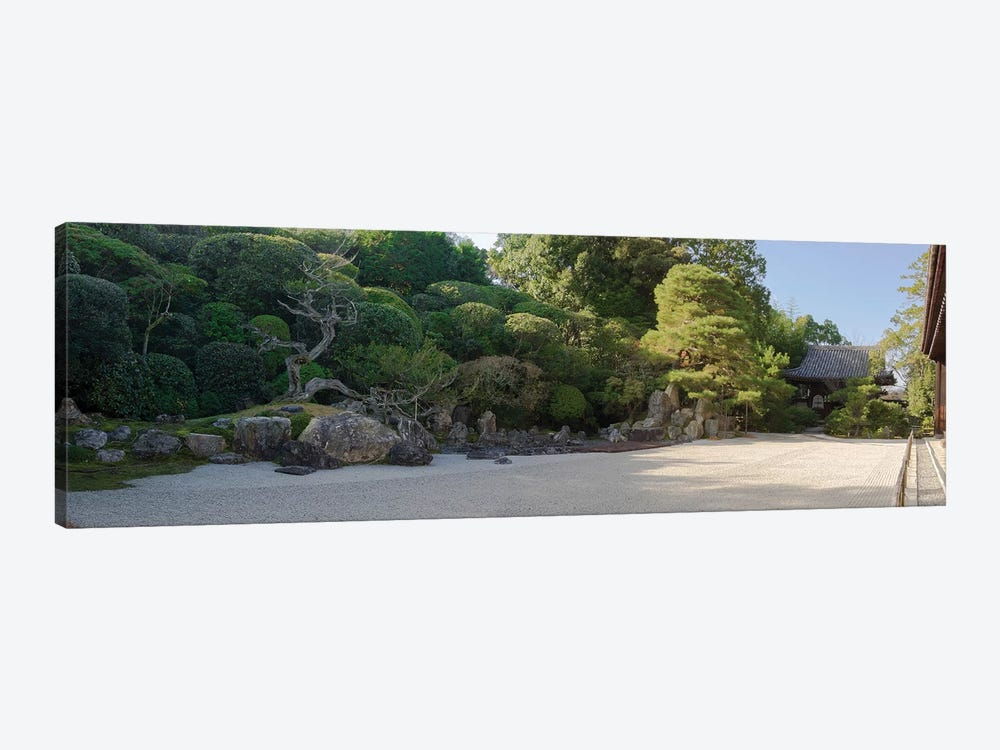Zen Garden At Konchi-In Temple, Kyoti Prefecture, Japan by Panoramic Images 1-piece Canvas Wall Art