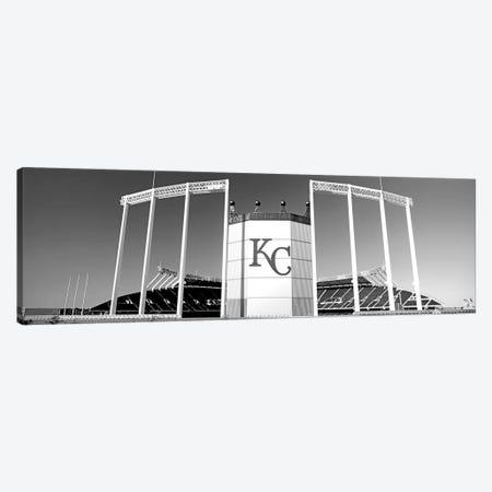 Baseball Stadium, Kauffman Stadium, Kansas City, Missouri, USA Canvas Print #PIM15082} by Panoramic Images Canvas Wall Art