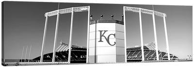 Baseball Stadium, Kauffman Stadium, Kansas City, Missouri, USA Canvas Art Print