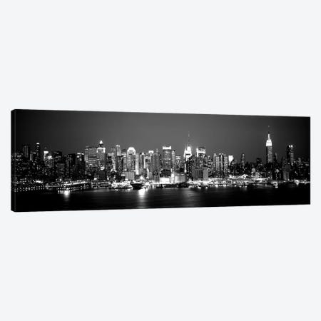 Buildings At The Waterfront, Manhattan, New York City, New York State, USA Canvas Print #PIM15097} by Panoramic Images Canvas Wall Art