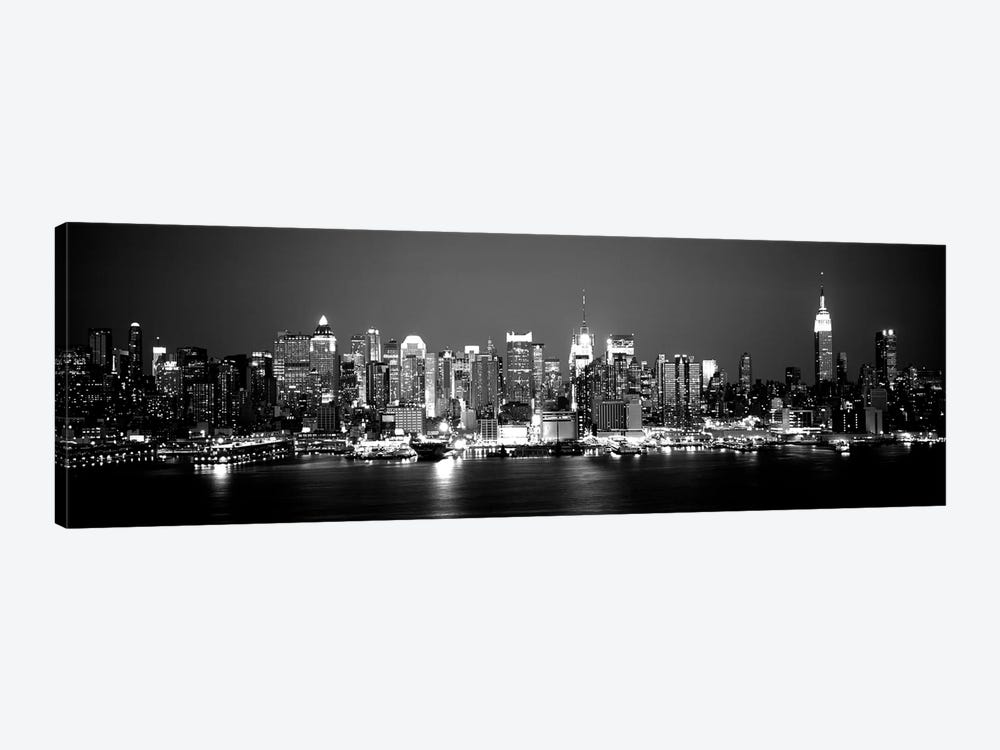 Buildings At The Waterfront, Manhattan, New York City, New York State, USA by Panoramic Images 1-piece Canvas Wall Art
