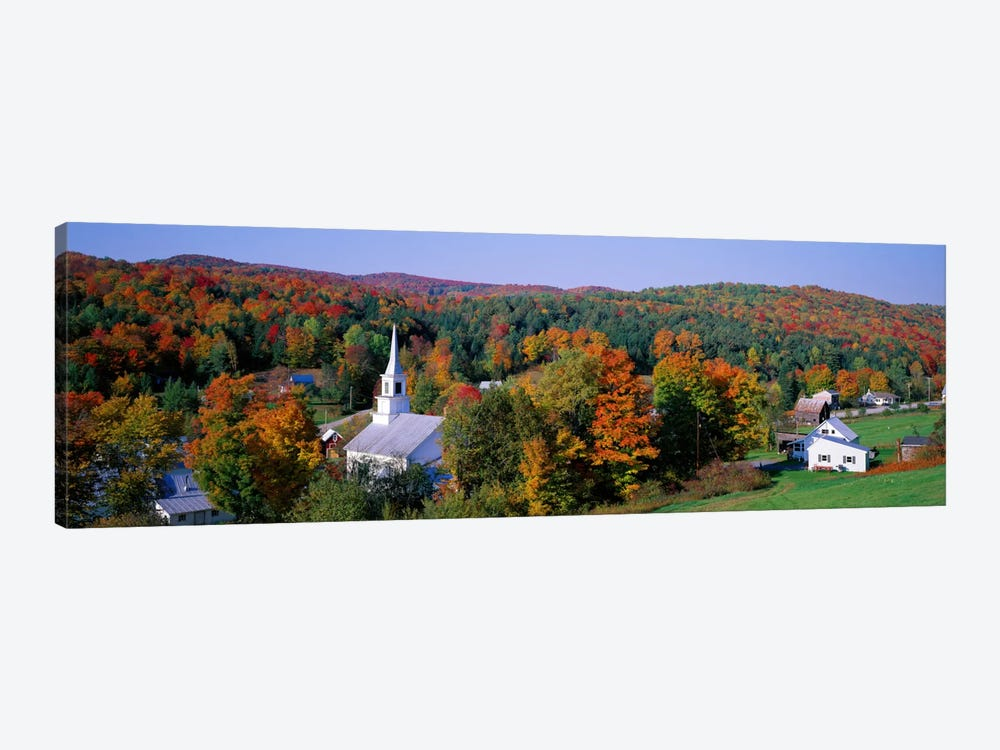 Autumn New England Landscape, Vermont, USA by Panoramic Images 1-piece Canvas Art Print