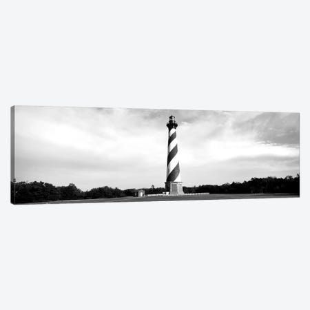 Cape Hatteras Lighthouse, Outer Banks, Buxton, North Carolina, USA 3-Piece Canvas #PIM15105} by Panoramic Images Canvas Artwork