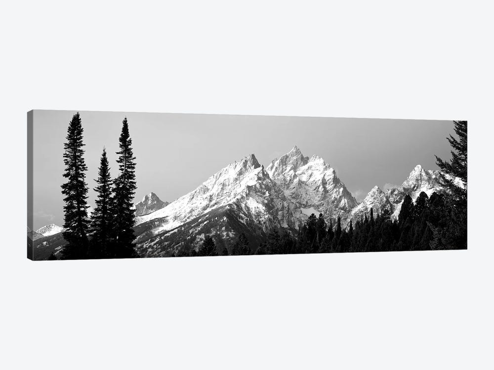 Cathedral Group Grand Teton National Park WY 1-piece Canvas Art Print