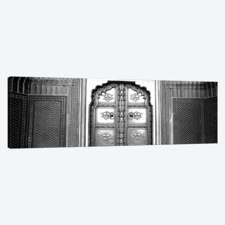 Close-Up Of A Closed Door Of A Palace, Jaipur City Palace, Jaipur, Rajasthan, India Canvas Print #PIM15114} by Panoramic Images Canvas Art Print