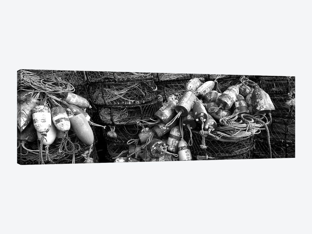 Close-Up Of Crab Pots, Humboldt County, California, USA by Panoramic Images 1-piece Canvas Art