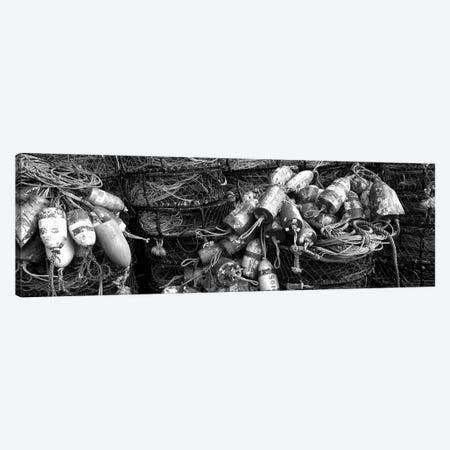 Close-Up Of Crab Pots, Humboldt County, California, USA Canvas Print #PIM15116} by Panoramic Images Canvas Print